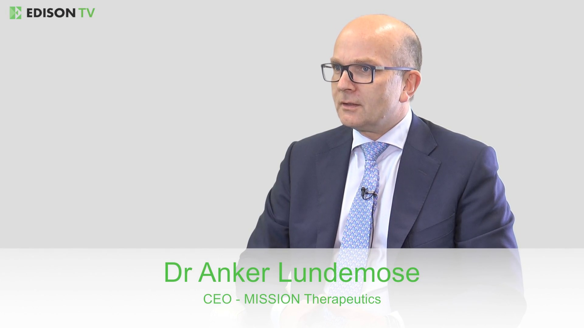 Executive Interview - MISSION Therapeutics