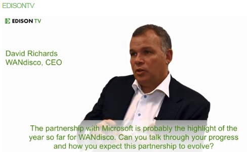 Executive interview - WANdisco