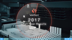 VolitionRX reports their Full Year 2017 Earnings