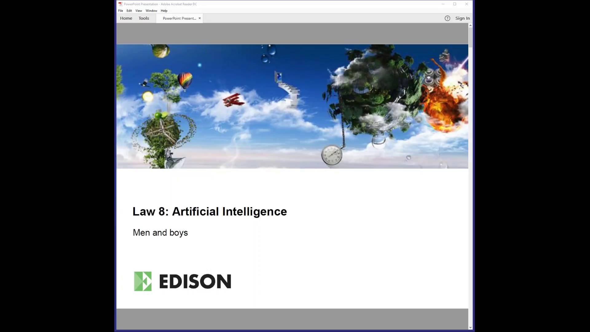 Webinar: Artificial Intelligence - coming of age at last?