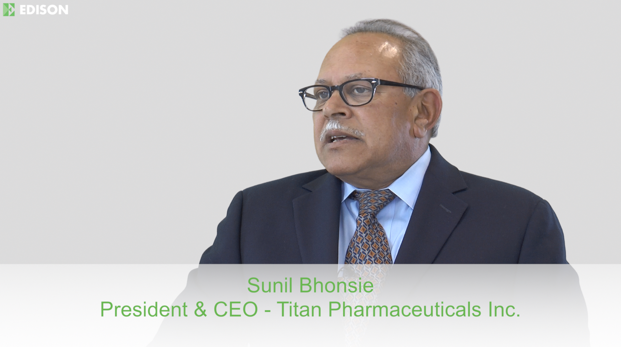Executive Interview - Titan Pharmaceuticals
